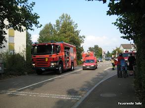 Photo: Pionierfahrzeug Feuerwehr Suhr (links)