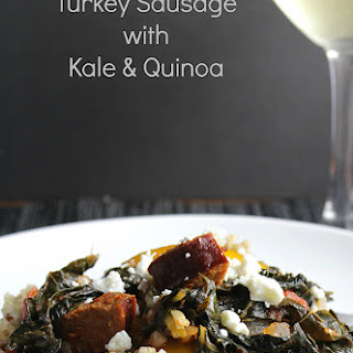 Turkey Sausage with Kale and Quinoa
