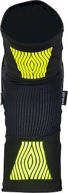 Fuse Omega Knee Pad: Black/Neon Yellow, Pair alternate image 1