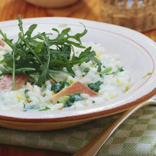 Smoked Salmon and Lemon Risotto.