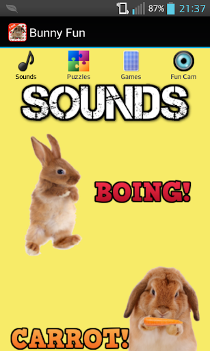 Bunny Games Sounds