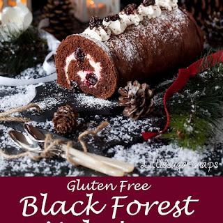 Black Forest Yule Log.