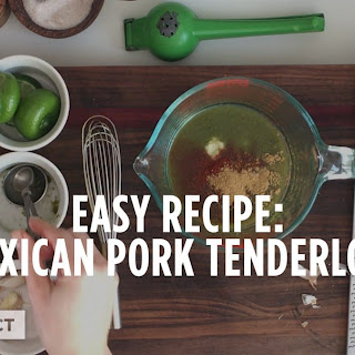 Mexican Pork Tenderloin.