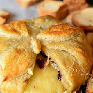 Cranberry Maple Baked Brie for Progressive Dinner #progressivedinner13