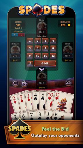 Spades - Offline Free Card Games modavailable screenshots 3