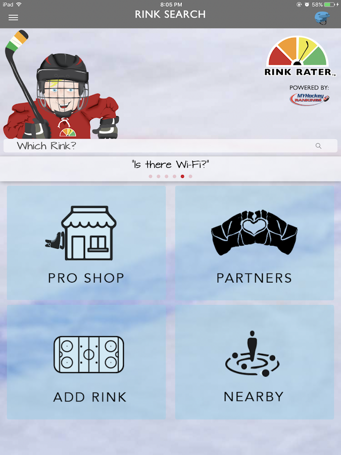 Rink Rater - Rink Reviews- screenshot