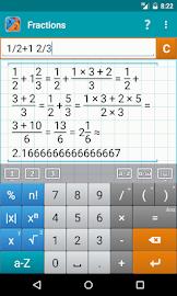Fraction Calculator MathlabPRO Screenshot 1