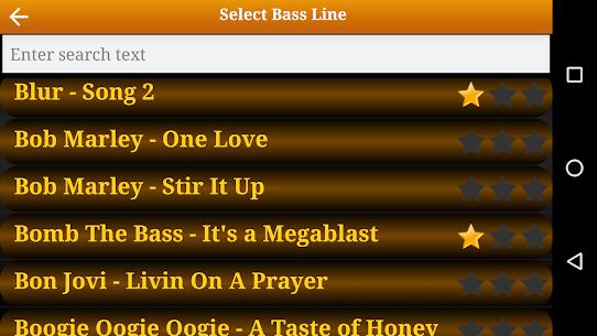 Bass Guitar Tutor Pro Re-engineered bass lines MOD (Paid) 3