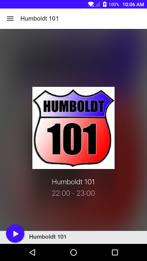 Humboldt 101- screenshot