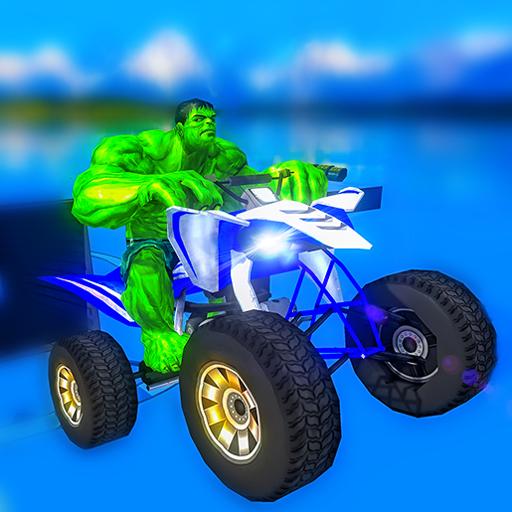 Impossible ATV Bike Superhero: Sky Tracks Rider