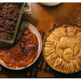 Glazed Apple Tart