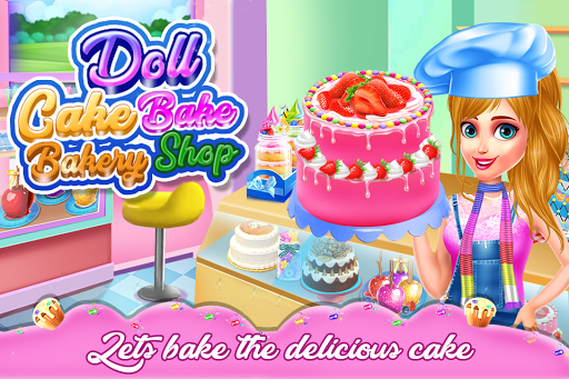 Doll Cake Bake Bakery Shop - Cooking Flavors 1.0.0 screenshots 2
