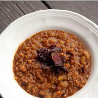 Lentil Bacon Soup