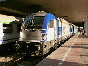 """Photo: EU44-005, EC """"Berlin-Gdynia-Express"""" Berlin Hbf - Gdynia Główna {Poznań Główny; 2013-05-05}"""