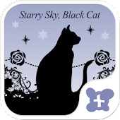 Gothic-Starry Sky, Black Cat-