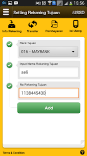 Maybank SMS+ Banking- screenshot thumbnail