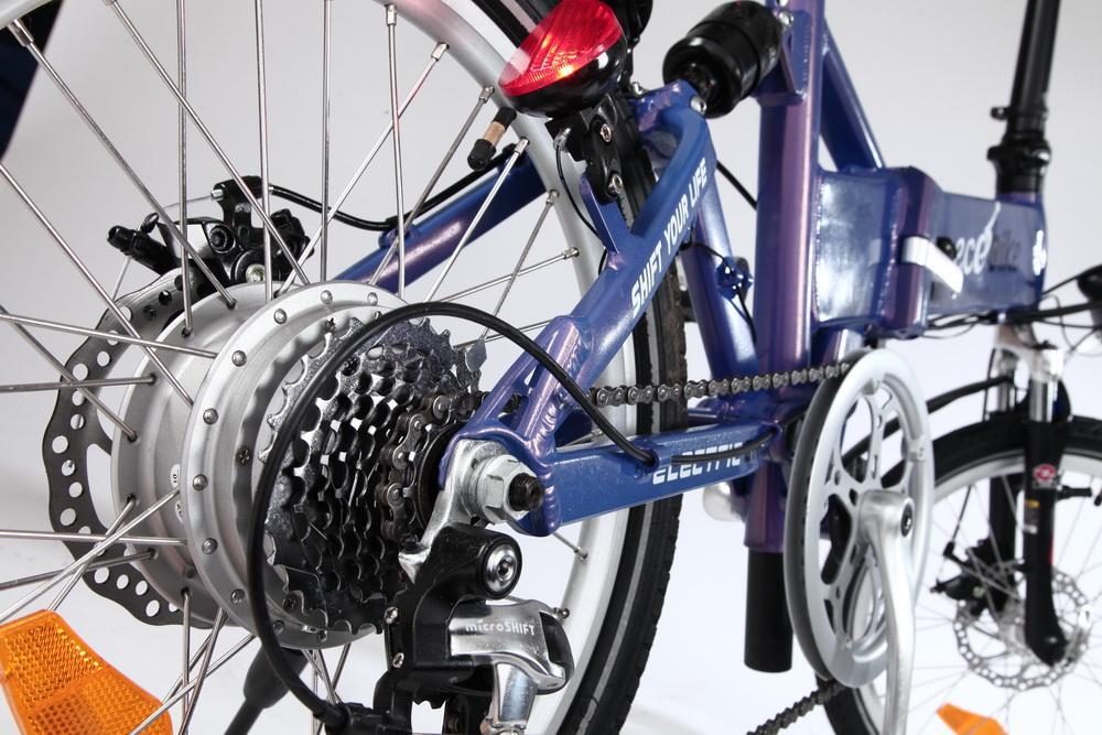 Экобайк - электровелосипед Ecobike F1 со складной рамой, время зарядки 5 часов