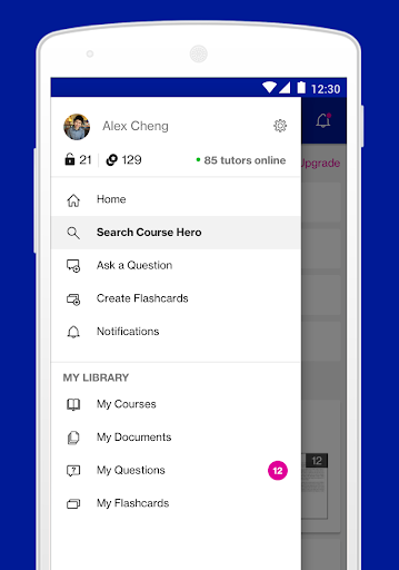 Course Hero | Homework Help 2.5.69 screenshots 2