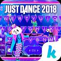 Just Dance Animated Kika Keyboard icon