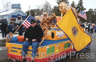 Photo: Nisswa Lions won the Best Float award - photo by Joanne Boblett