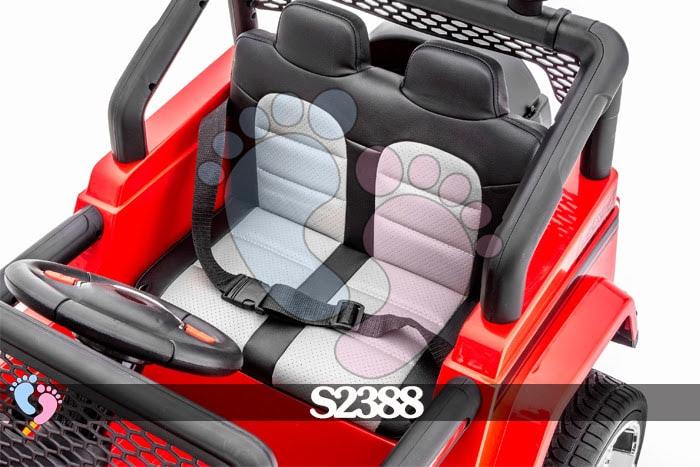 Ô tô điện địa hình S2388 4 động cơ, bánh cao su 18