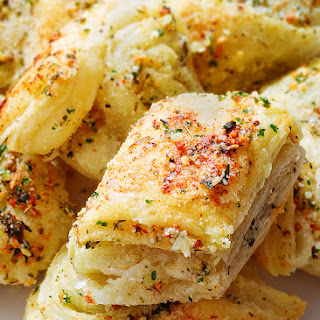 Garlic Parmesan Puffs