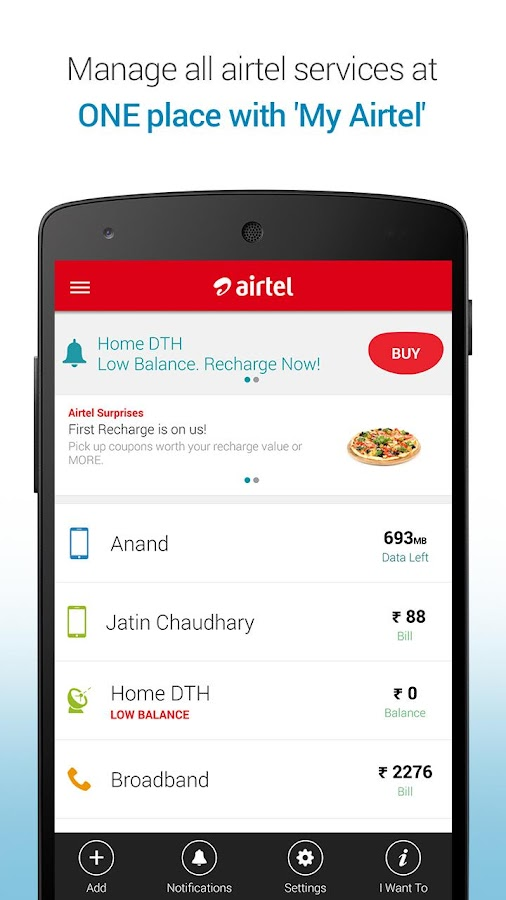 Mobile Recharge & Pay Bill- screenshot