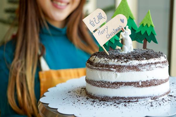 就是要這樣慶祝聖誕!人生第一個手作蛋糕絕對不會失敗!台北、新竹、台中、台南「自己做烘焙聚樂部」