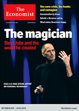 Photo: The Economist cover: The magician. October 8th-14th 2011