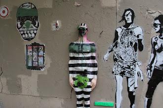 Photo: Street art - Moyoshi -Urban solid- Sobr -Paris XIIIe -La butte aux cailles