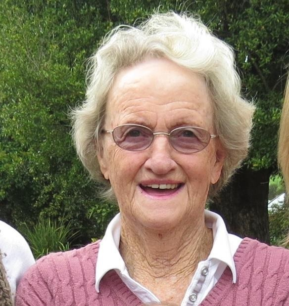 STRONGER EVERY DAY: Former ANC MP Judy Chalmers, 87, of Summerstrand, has weathered her Covid-19 diagnosis with positivity