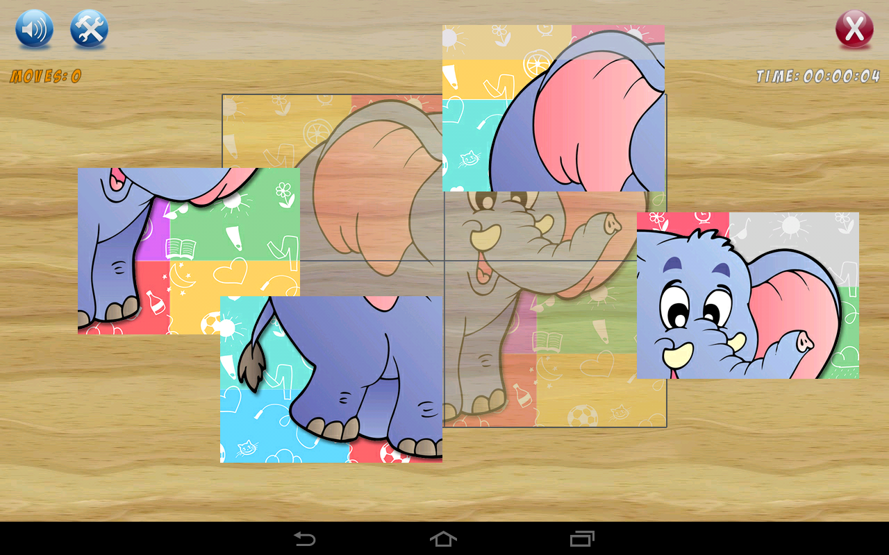 Puzzles for kids- screenshot