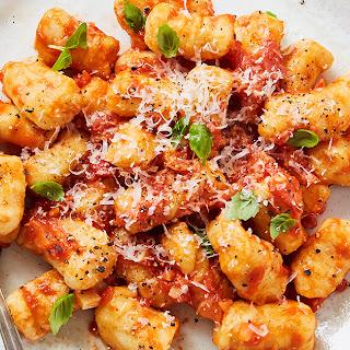 Gluten-Free Cauliflower Gnocchi Pomodoro.