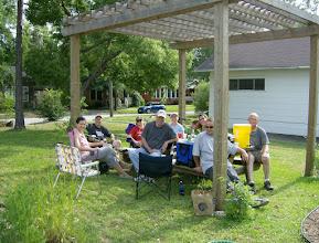 Photo: Garden team, one year later...