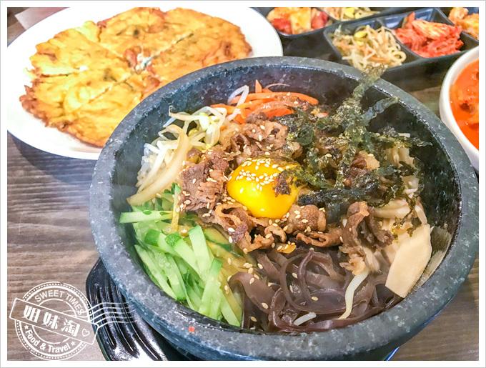 阿朱媽韓料理牛肉石鍋拌飯