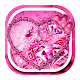 Pink diamond keyboard theme Download for PC Windows 10/8/7