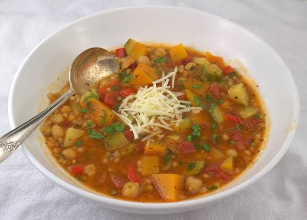 Maltese Kusksu Minestra Soup