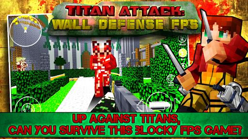 Titan Attack: Wall Defense FPS