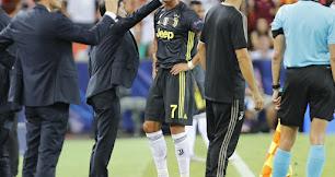 Cristiano Ronaldo fue expulsado en el minuto 29.