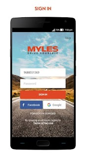 Myles - Self Drive Car Rental- screenshot thumbnail