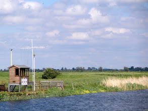 Photo: Yachting Marshall's hut at Waterbeach/Clayhithe