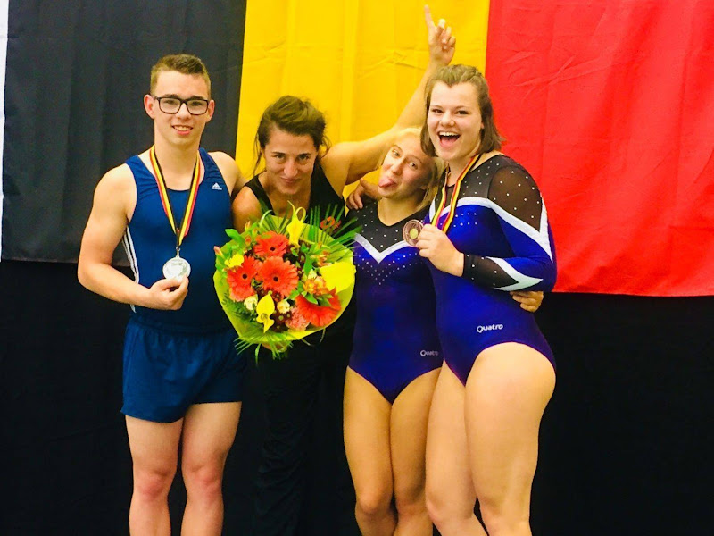 Oostakkerse tumbling gymnasten naar World Cup