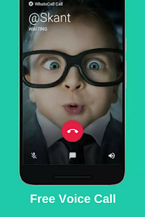 WhatsCall - free call & chat - Messenger - náhled
