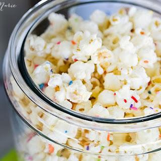 Cake Batter & Sprinkles Popcorn