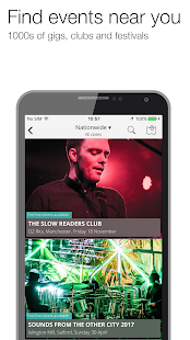 Skiddle: Gigs Clubs Festivals- screenshot thumbnail