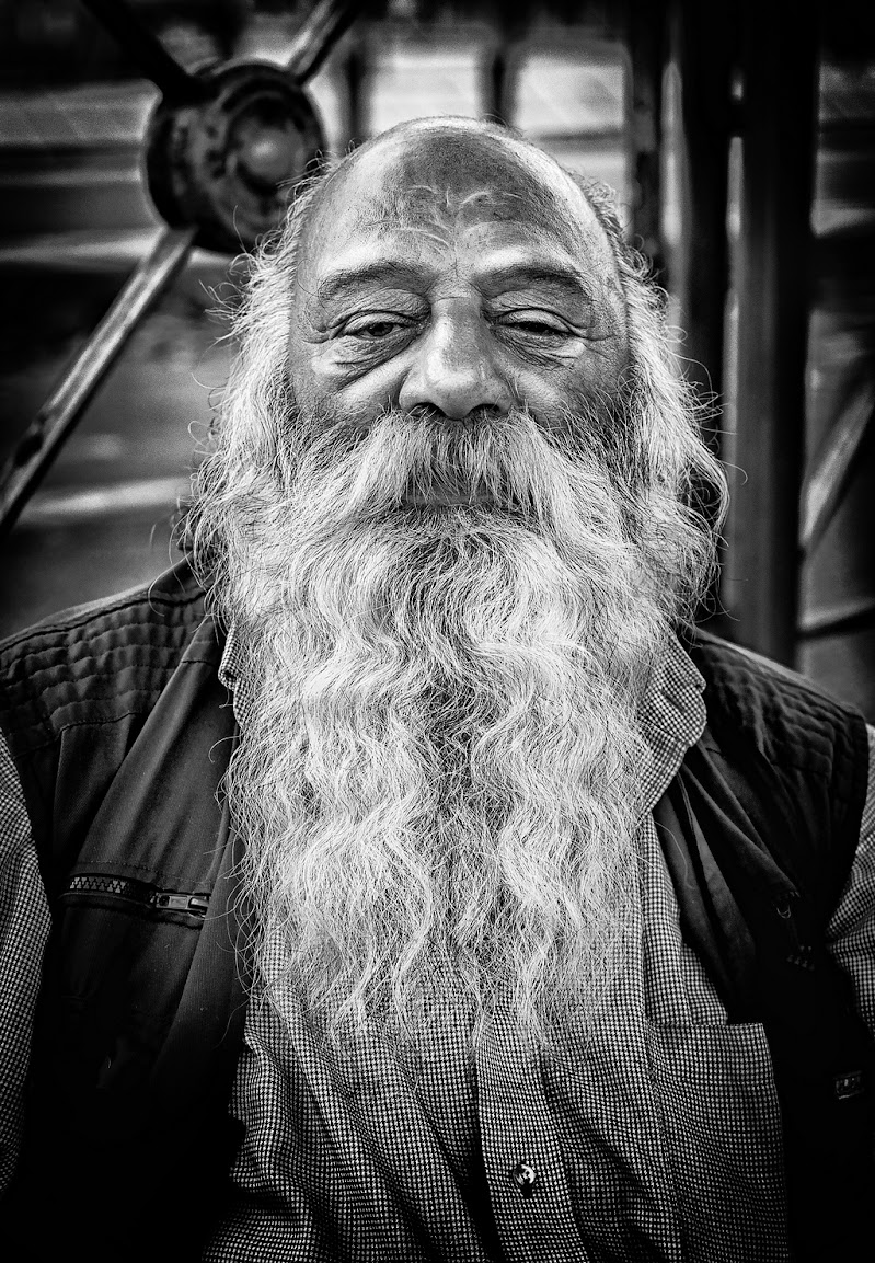 L'Uomo dalla lunga barba di Dennis Trevisan