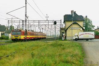 """Photo: ED72-001, P """"Flisak"""" Toruń Główny - Olsztyn Główny {Papowo Toruńskie; 2003-10-16}"""