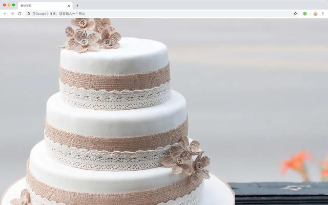 蛋糕 热门美食 高清壁纸 新标签页 主题