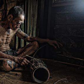 Iban Of Borneo by Ricky Inex's - People Portraits of Men