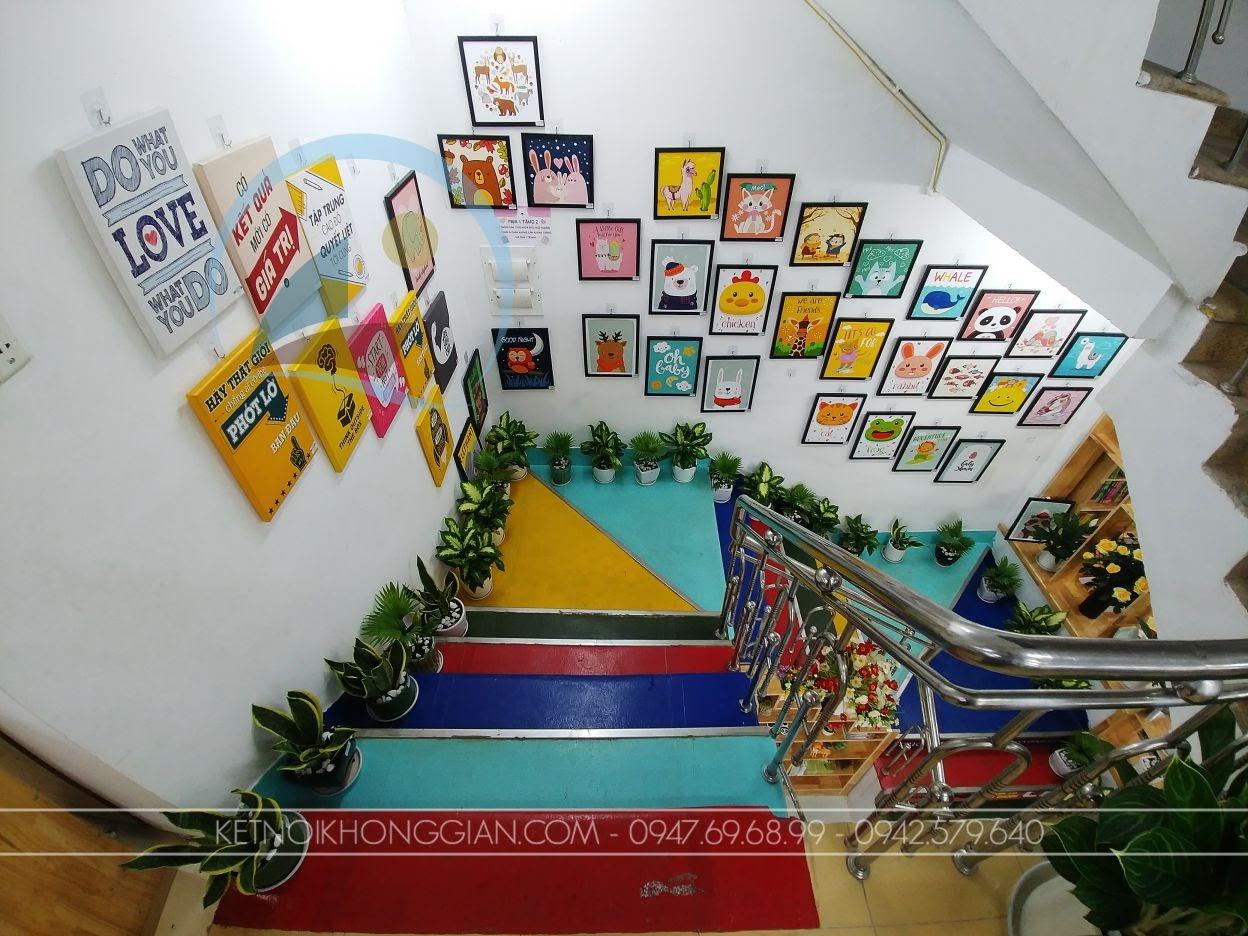 thiết kế thi công nội thất nhà sách Trí Đức 22